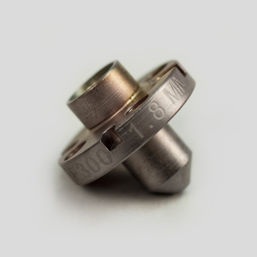 HFE 300 Extruder 1.80 mm Nozzle, Hardened Steel