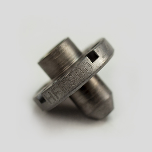 HFE 300 Extruder 2.40 mm Nozzle, Hardened Steel